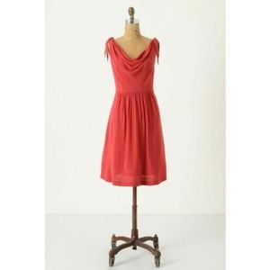 Maeve Anthropologie Tied Down Dress